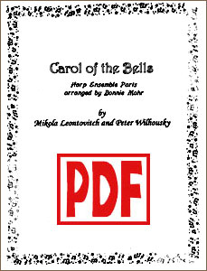 Carol of the Bells Ensemble Parts by Bonnie Mohr PDF Download