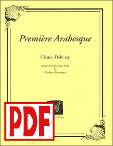 Premiere arabesque (Debussy) by Barbara Brundage PDF Download