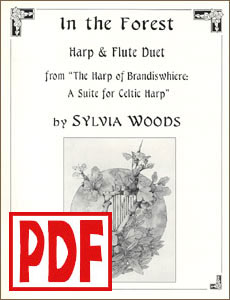In the Forest for harp and flute by Sylvia Woods PDF Download
