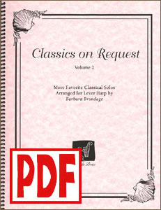 Moonlight Sonata from Classics on Request #2 by Barbara Brundage PDF Download