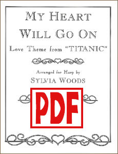 My Heart Will Go On: Love Theme from Titanic by Sylvia Woods PDF Download