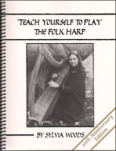 Teach Yourself To Play The Folk Harp products by Sylvia Woods: Book, CD and/or DVD