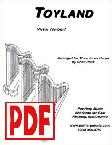 Ensemble Parts of Toyland by Shari Pack PDF Download