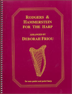 Rodgers and Hammerstein for the Harp book by Deborah Friou