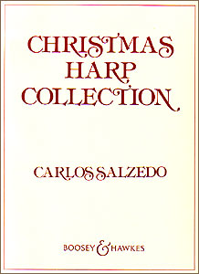 Christmas Harp Collection book for pedal harp by Carlos Salzedo