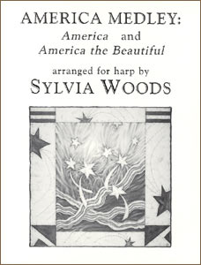 America Medley: America & America the Beautiful sheet music by Sylvia Woods