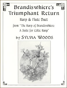 Brandiswhiere's Triumphant Return sheet music for harp and flute