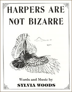 Harpers Are Not Bizarre sheet music by Sylvia Woods