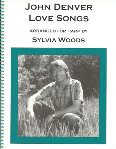 John Denver Love Songs for the Harp book by Sylvia Woods