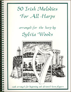 50 Irish Melodies products by Sylvia Woods: Book and/or CD