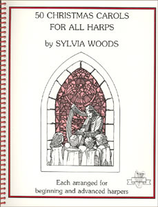 50 Christmas Carols Products by Sylvia Woods: Book and/or CD