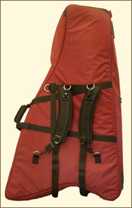 Backpack Straps for Dusty Strings Harp Cases