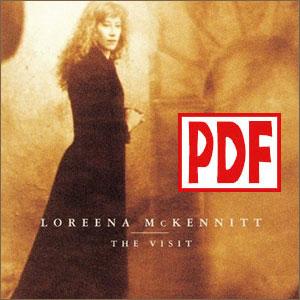 PDF DOWNLOADS from The Visit by Loreena McKennitt