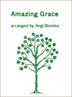 Amazing Grace sheet music arranged by Angi Bemiss