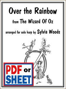 Over the Rainbow from <i>The Wizard of Oz</i> arranged by Sylvia Woods