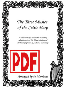 The Three Musics of the Celtic Harp by Jo Morrison PDF Download