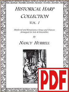 Historical Harp Collection #1 by Nancy Hurrell - PDF Download