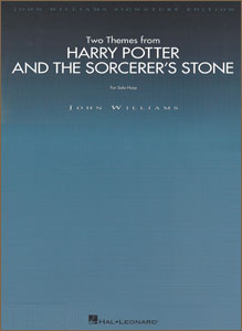 Harry Potter and the Sorcerer's Stone booklet - 2 pieces for pedal harp by John Williams