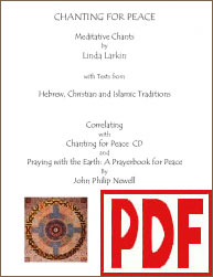 Chanting for Peace by Linda Larkin <span class='red'>PDF Download</span>