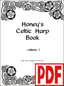 Honey's Celtic Harp Book Vol. 1 by Therese Honey <span class='red'>PDF Download</span>