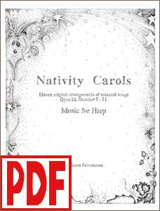 Nativity Carols Set #1 by Barbara Semmann PDF Download