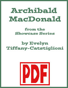 Archibald MacDonald arranged by Evelyn Tiffany-Castiglioni PDF Download