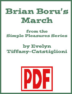 Brian Boru arranged by Evelyn Tiffany-Castiglioni PDF Download