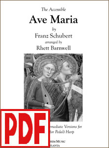Ave Maria by Schubert arranged by Rhett Barnwell PDF Download