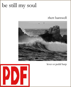Be Still My Soul arranged by Rhett Barnwell PDF Download