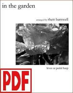 In the Garden arranged by Rhett Barnwell PDF Download