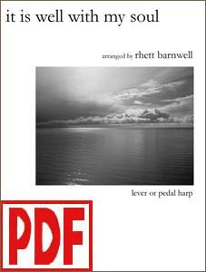 It is Well with My Soul arranged by Rhett Barnwell PDF Download