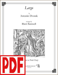 Largo by Dvorak arranged by Rhett Barnwell PDF Download