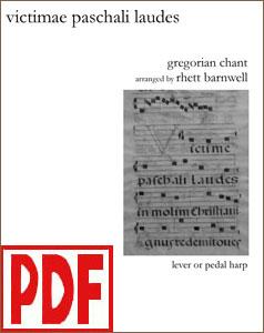 Victimae Paschali Laudes arranged by Rhett Barnwell PDF Download