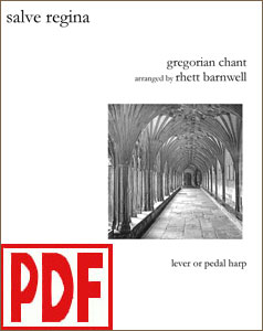 Salve Regina arranged by Rhett Barnwell PDF Download