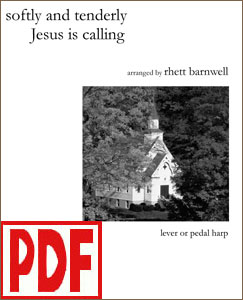 Softly and Tenderly Jesus is Calling arranged by Rhett Barnwell PDF Download