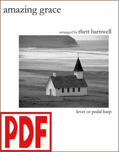 Amazing Grace arranged by Rhett Barnwell <span class='red'>PDF Download</span>