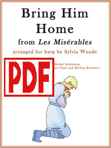 Bring Him Home from Les Miserables arranged by Sylvia Woods PDF Download