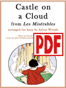 Castle on a Cloud from Les Miserables arranged by Sylvia Woods PDF Download