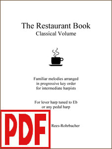 Restaurant Book - Classical Volume, arranged by Darhon Rees-Rohrbacher PDF Download