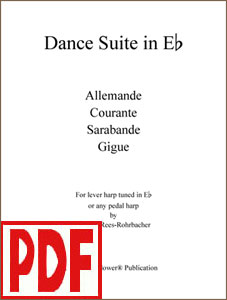 Dance Suite in E-flat composed by Darhon Rees-Rohrbacher PDF Download