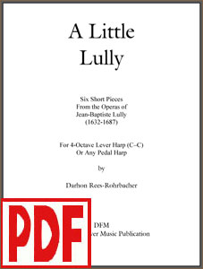 A Little Lully arranged by Darhon Rees-Rohrbacher PDF Download