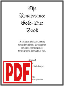 Renaissance Solo-Duo Book arranged by Darhon Rees-Rohrbacher <span class='red'>PDF Download</span>