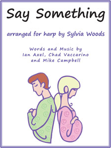 Say Something sheet music arranged by Sylvia Woods