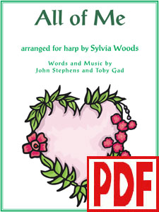 All of Me arranged by Sylvia Woods PDF Download