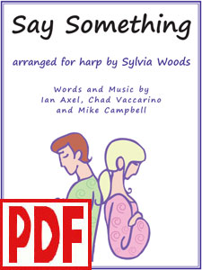 Say Something arranged by Sylvia Woods PDF Download
