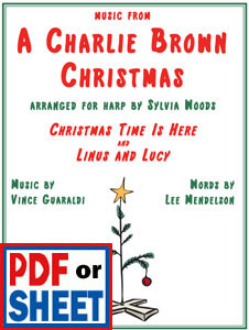 Music from <i>A Charlie Brown Christmas</i> by Vince Guaraldi arranged by Sylvia Woods