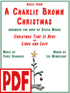 Music from A Charlie Brown Christmas arranged by Sylvia Woods PDF Download