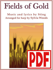 Fields of Gold by Sting arranged by Sylvia Woods PDF Download
