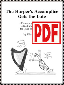 The Harper's Accomplice Gets the Lute by Ellen Tepper PDF Download