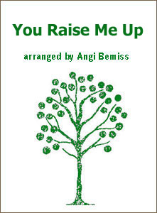 You Raise Me Up sheet music arranged by Angi Bemiss